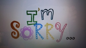 How to Avoid Making a Sincere Apology